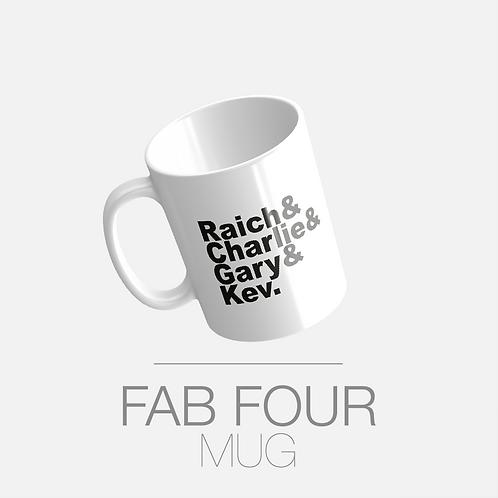 FAB FOUR MUG (FREE POSTAGE)