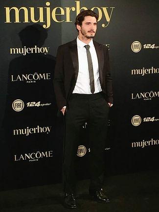 Yon González en premios mujerhoy 2017
