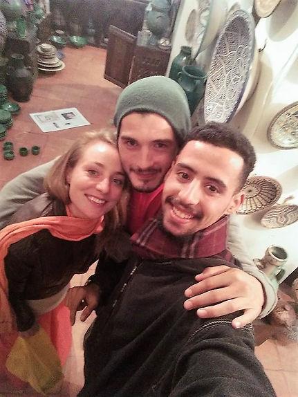 Yon González vacaciones en marruecos 2017