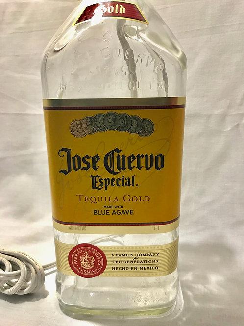 Jose Cuervo Tequila Bottle Lamp