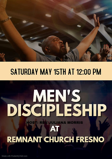Copy of MEN church flyer - Made with Pos