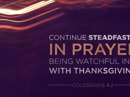 Steadfast In Prayer