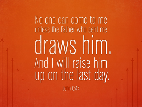 God The Father Draws Us to Him
