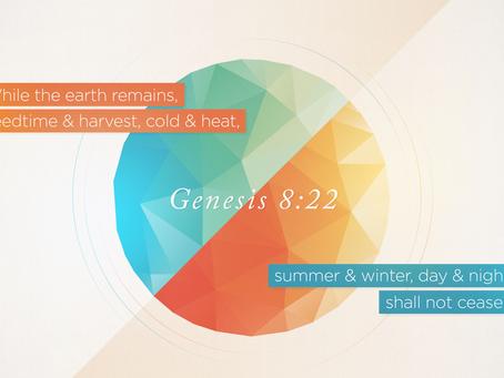 The Seasons Mark God's Blessings