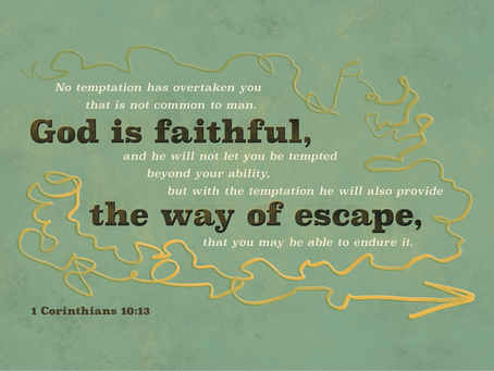 An Assurance of God in Times of Temptation