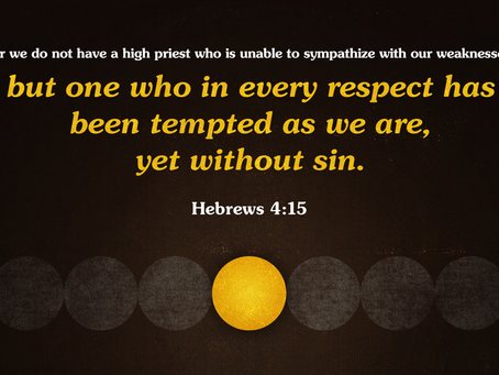 Jesus Ministers Unto Us As Our Great High Priest