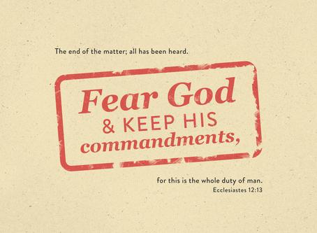 Godly Fear Brings Wisdom