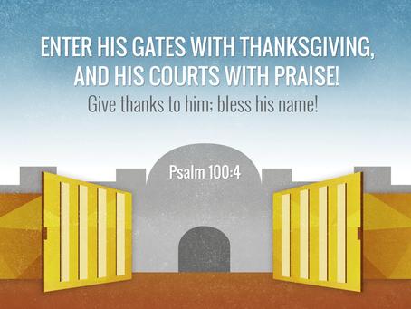 Summary of Psalm 100