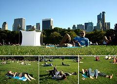 Clube de Nadismo encontro no Central Park NYC