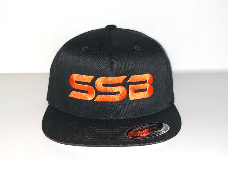 SSB ORANGE LOGO FITTED HAT