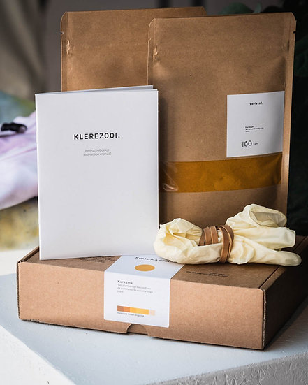 Klerezooi - Natuurlijke Kleurstof Kit Geel