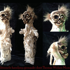 Mummie handpop - Mummie glovepuppet