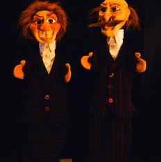 Boeven handpoppen - Bandits glovepuppets