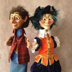Abed en vrolijke Piet