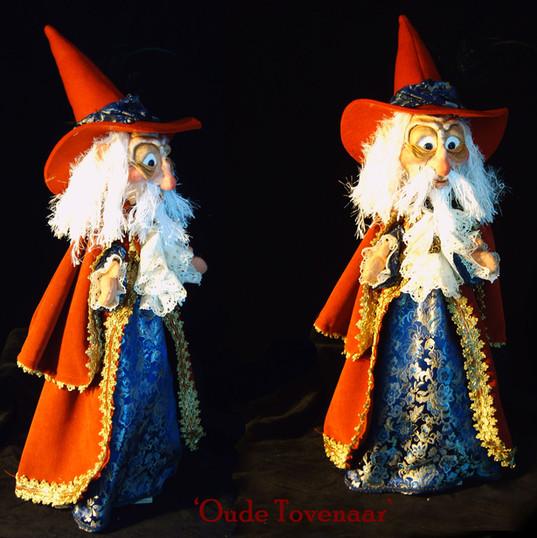 Tovenaar handpop - wizard glovepuppet
