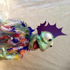 plastiek zeemonstertje - bekpop