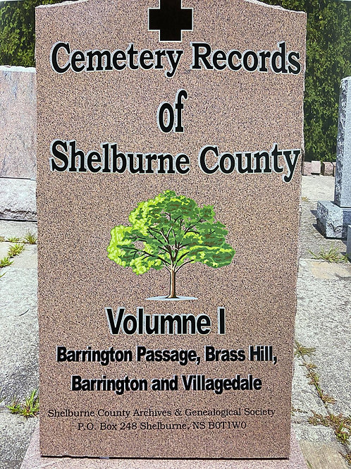 Cemetery Records of Shelburne County
