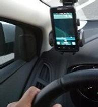 שימוש באפליקציית ניווט