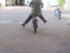 רכיבה על אופניים ללא גלגלי עזר