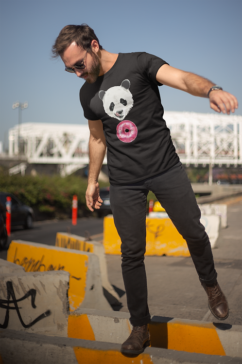 Sweet Panda Men's T-Shirt
