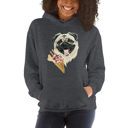 Sweet Pug Women's Hoodie