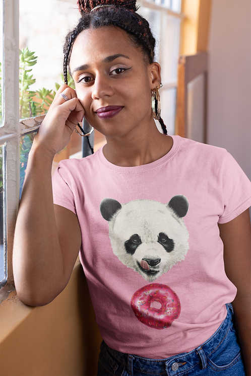 Sweet Panda Women's T-Shirt