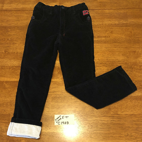 Children's Flannel lined pants