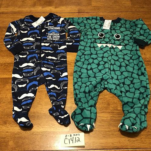 Children's pajamas - 2 pack