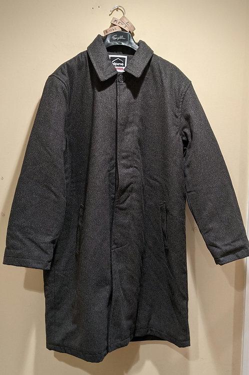 Men's Grey Wool Coat