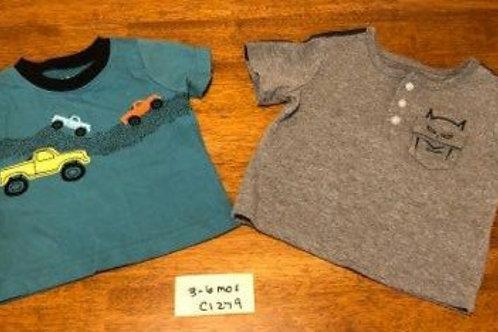 Children's Shirt -short sleeve - set of 2