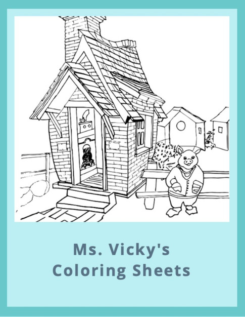 Ms. Vicky's Coloring Sheets