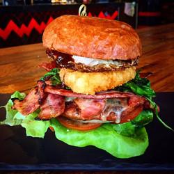 The Two Hander Breakfast Burger