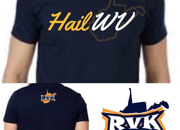 Blue Hail WV T-shirt