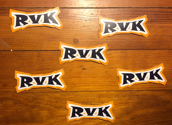 RVK Cutout Sticker
