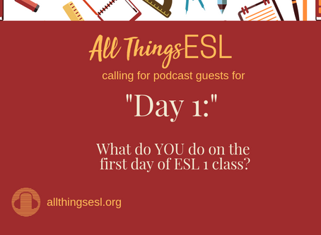 Episode 3: What to do on Day 1 of ESL 1