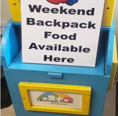 Weekend Backpack Food Changes