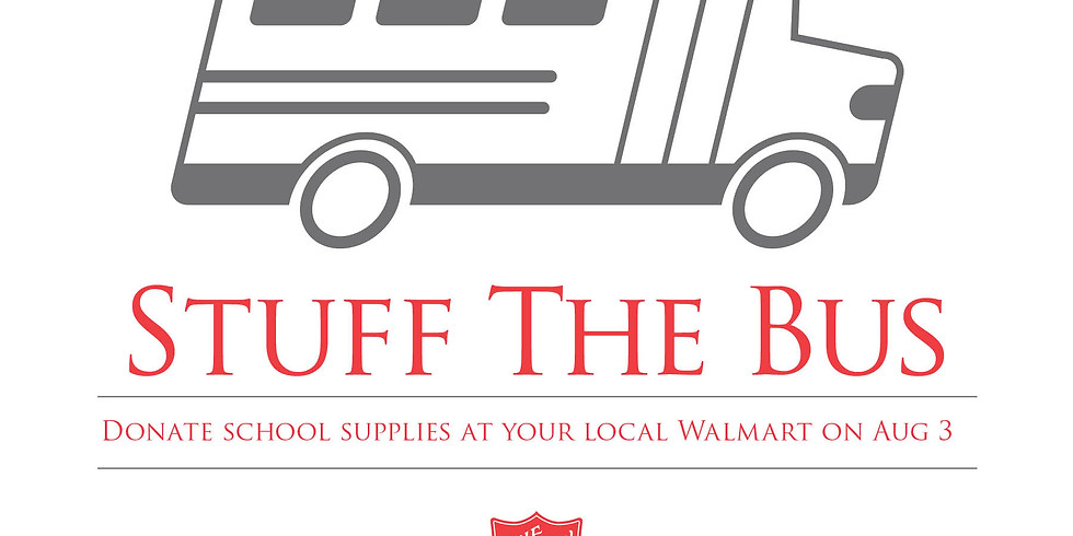 Help Stuff The Bus Saturday, August 3rd!