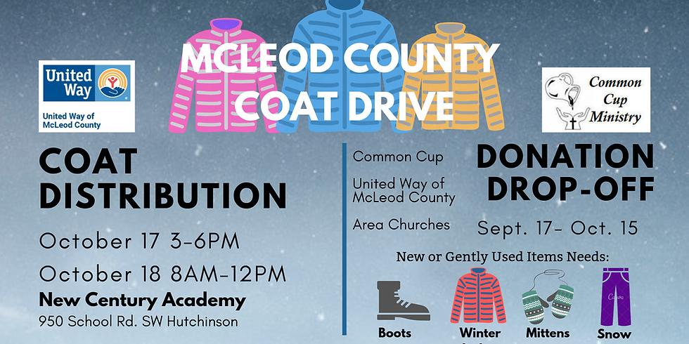 McLeod County Coat Distribution