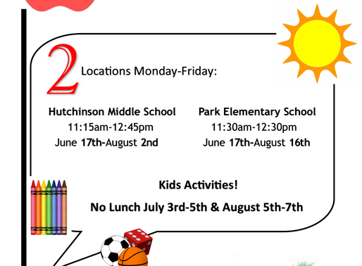 Free Summer Lunch & Kids Activities!