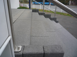 Außentreppe aus Stein