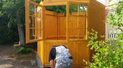 Montage Gartenhaus
