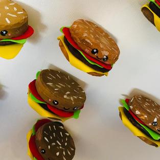 מגנטים של המבורגר