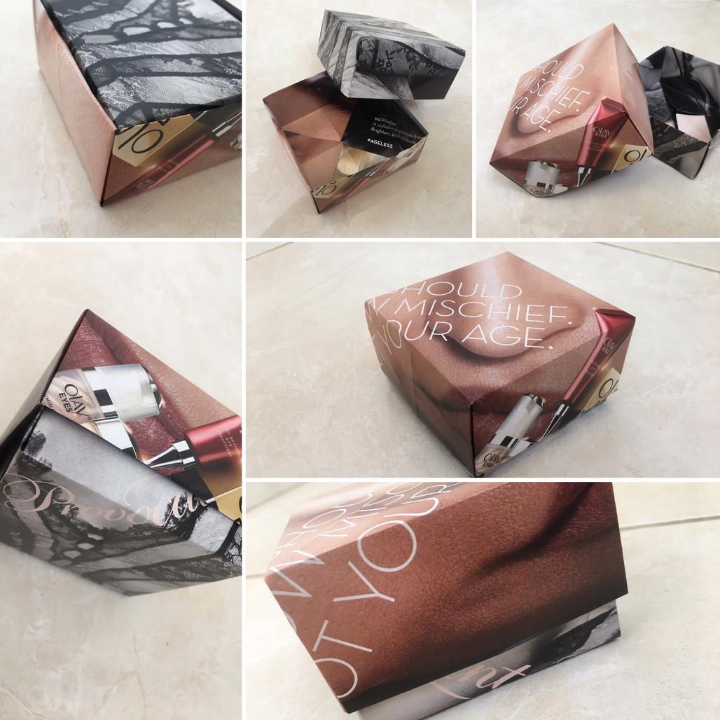 קופסאות מתנה מניירות של מגזין