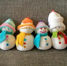 בובות איש שלג