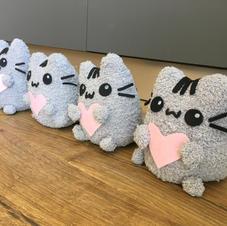 בובות חתול בסגנון יפני