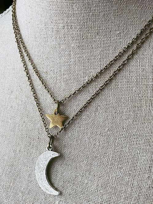 Celestial Stack Necklace
