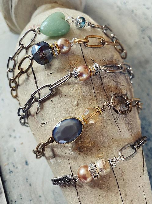 OOAK Stackable Bracelets
