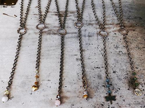 """Long Dainty """"Y"""" Necklace"""