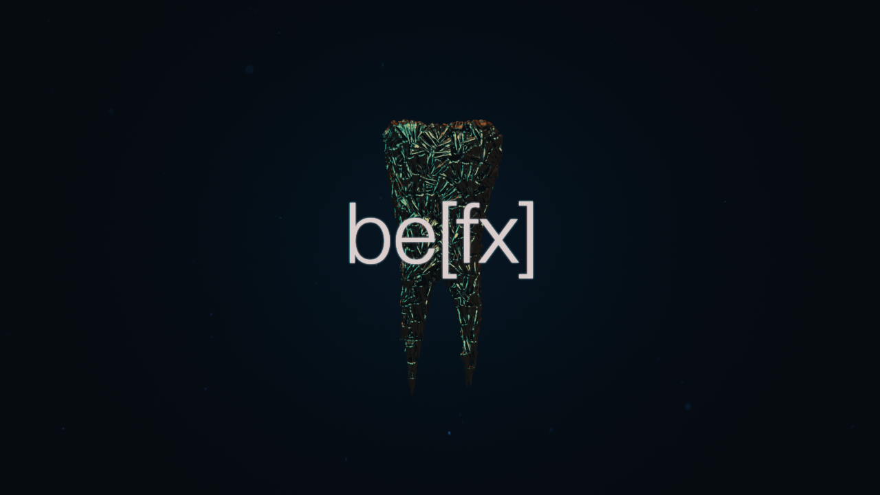 be[fx] - title animation