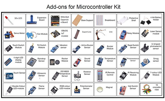 Add-ons for Microcontroller Kit